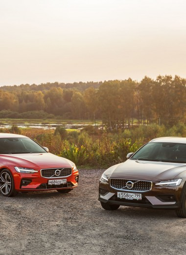 Какой Volvo лучше: универсал V60 Cross Country или седан S60?