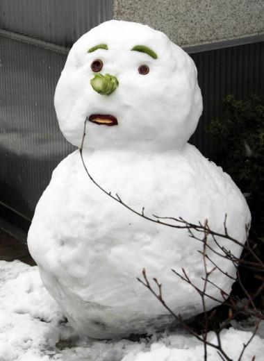 Как слепить идеального снеговика