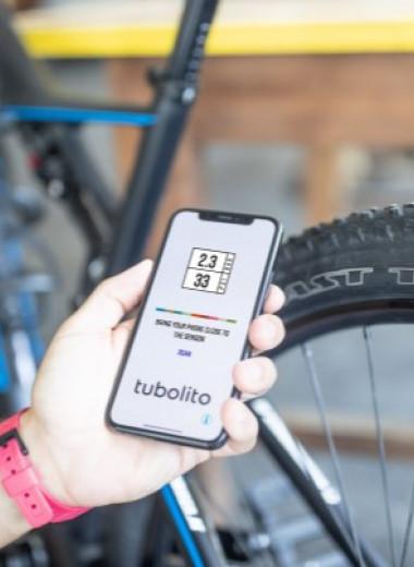 NFC-чип позволил проверить давление в велосипедном колесе со смартфона