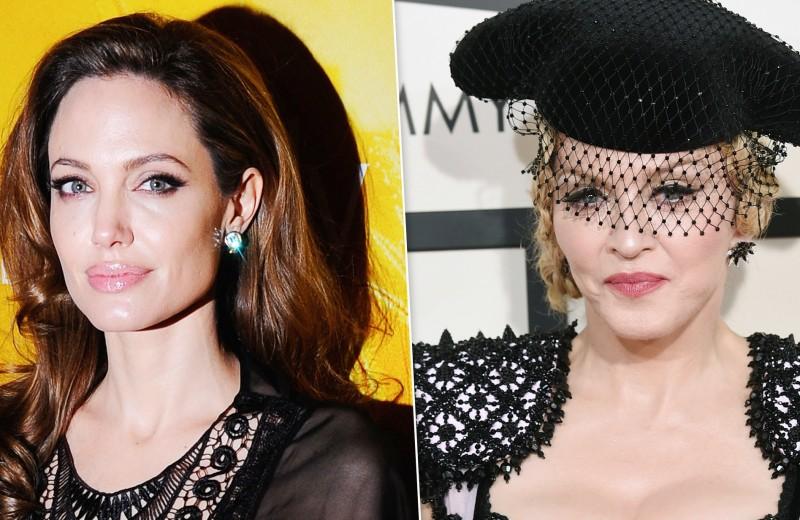Кто из звезд не общается с родственниками: Мадонна, Анджелина Джоли и другие