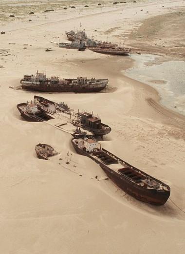 Покинутый советский остров-полигон, на котором захоронено биологическое оружие