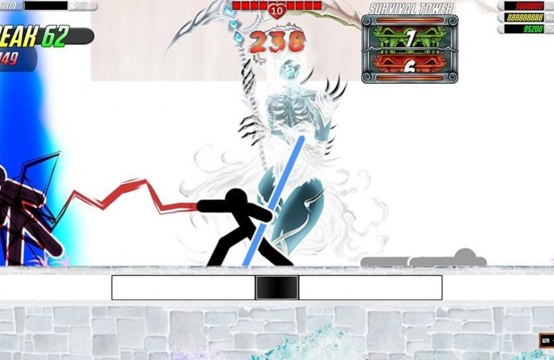 One Finger Death Punch 2 – безумно простая игра, в которую вы будете готовы рубиться часами