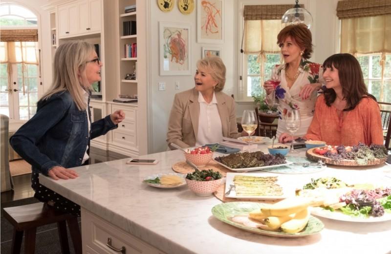 Комедия «Книжный клуб»: звездные женщины за 60 шутят ниже пояса