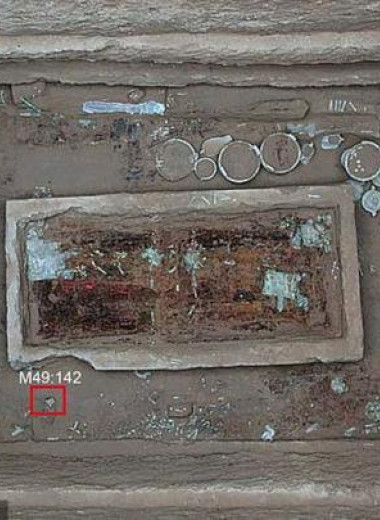 В древней могиле китайского дворянина нашли банку с кремом из лунного молока