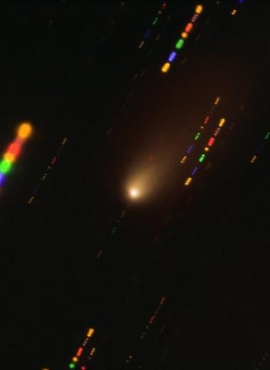 Астрономы нашли в холодных комах комет атомы железа и никеля