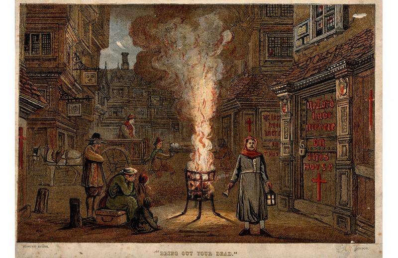 «Чума распространилась уже почти по всему королевству»: Сэмюэль Пипс об эпидемии 1665 года в Лондоне