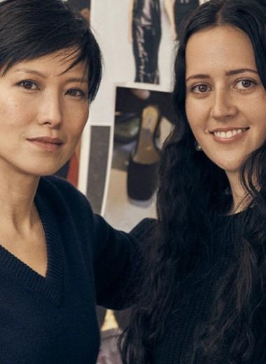 Сандра Чой и Эшли Уильямс рассказали Vogue о том, как создавалась коллекция Jimmy Choo x Ashley Williams