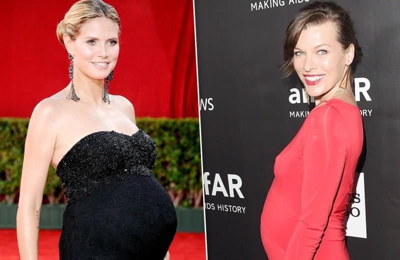 Слезы, арбузы, торты и костный мозг: странности беременных звезд