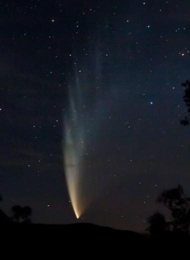К Солнцу приближается комета ATLAS. Она может стать ярчайшей кометой последних 13 лет