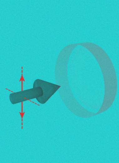 Пару атомов возбудили одним фотоном