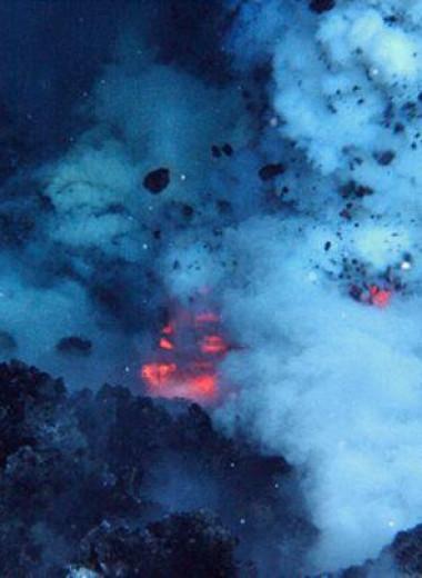 Подводные извержения оказались неожиданно мощными