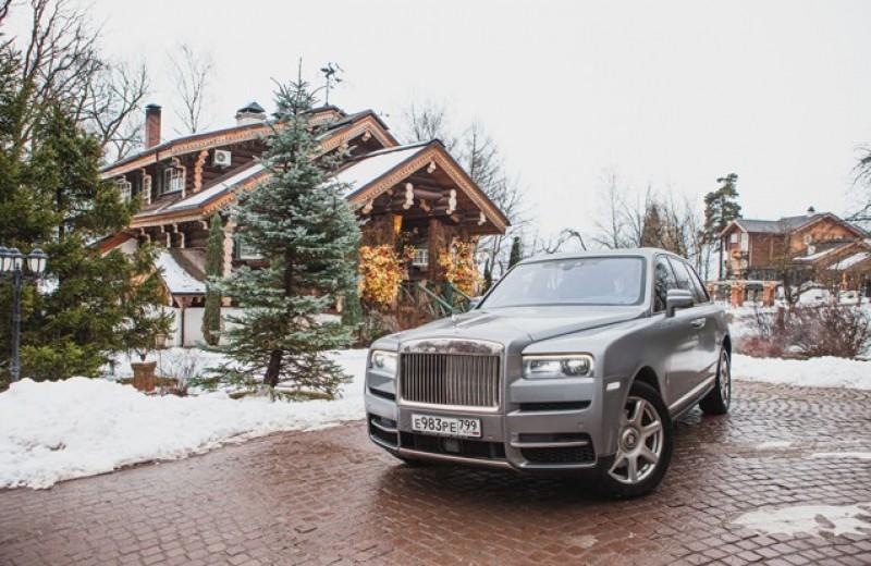 Алмаз в оправе российских дорог. Тест-драйв Rolls-Royce Cullinan