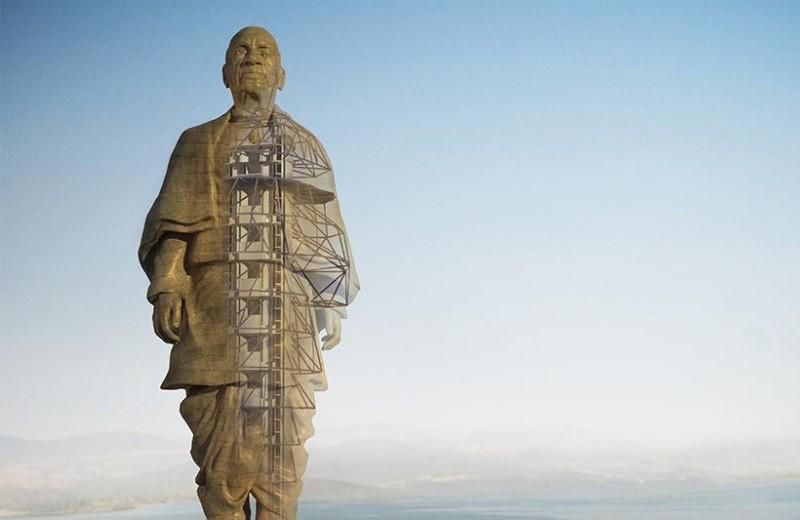 В Индии строят самую большую статую на свете