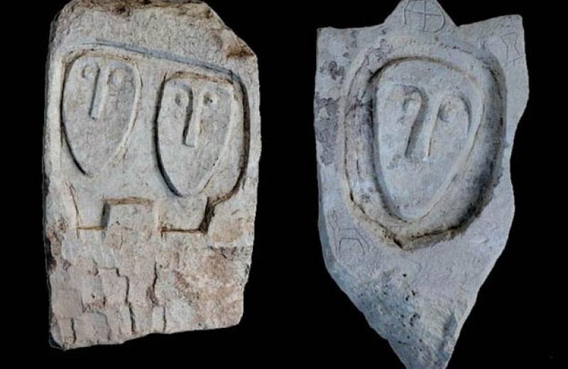 В разграбленном позднескифском некрополе нашли 63 каменных надгробия