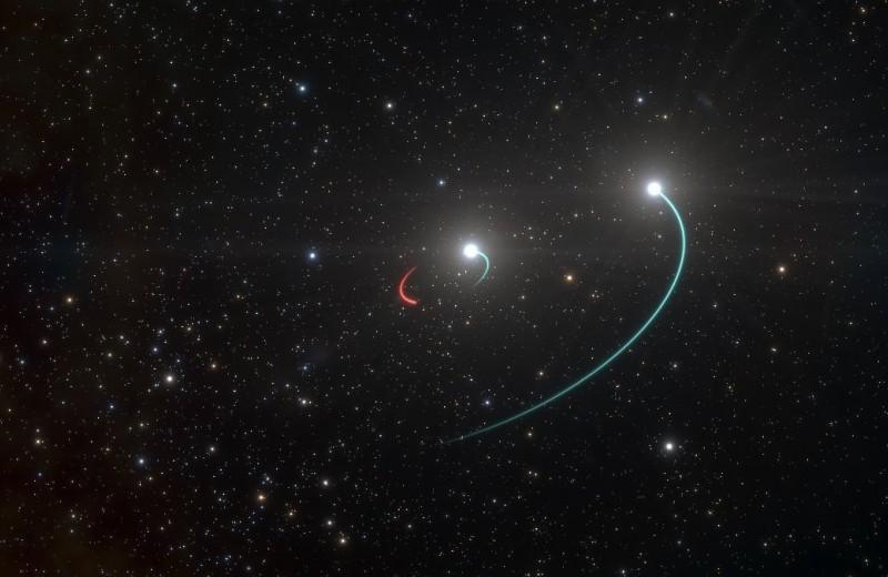 В Млечном Пути нашли ближайшую к Земле черную дыру