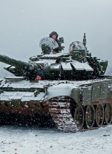 Тест-драйв танка Т-72Б3: