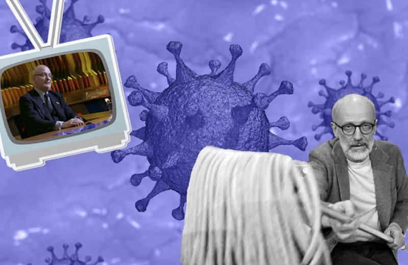 ТВ с конституционной поправкой на вирус