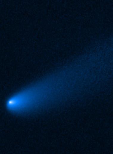 «Хаббл» рассмотрел комету-трансформер