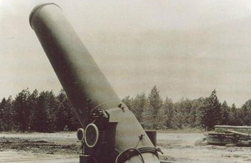 Самое крупнокалиберное орудие в мире