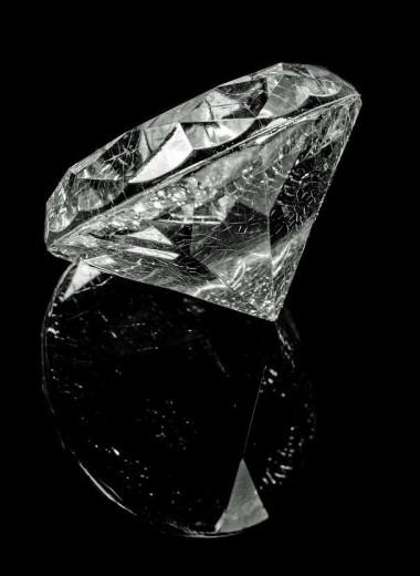 Алмаз выдержал рекордное давление, не изменив структуру