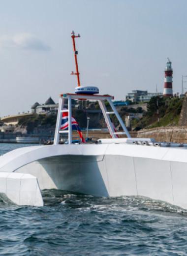 Корабль-беспилотник не смог повторить историческое путешествие торгового судна «Мэйфлауэр»