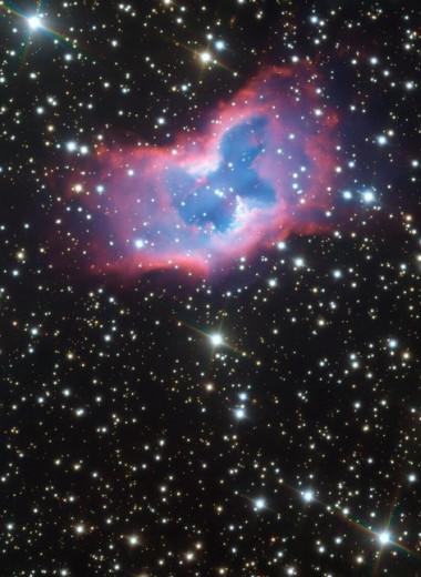 Космическая «бабочка»: фантастическая красота вобъективе Очень Большого Телескопа