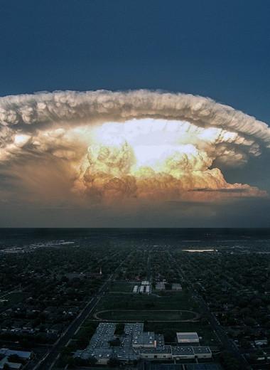 Мирный атомный взрыв и еще 6 сногсшибательных пейзажей!