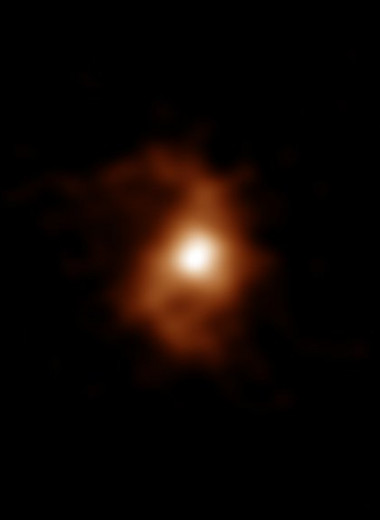 Обнаружена древнейшая спиральная галактика