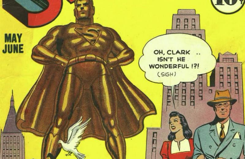 Впервые опубликован стих Набокова о Супермене и его переживаниях (нет, вы не ослышались)