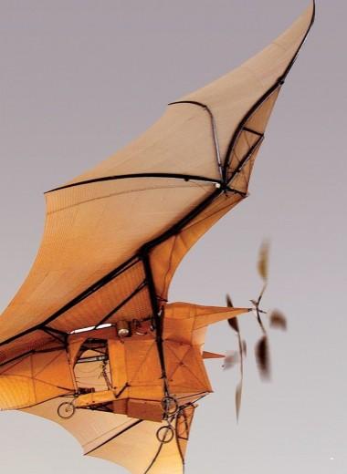 Летающий паровоз: самолет с паровым двигателем
