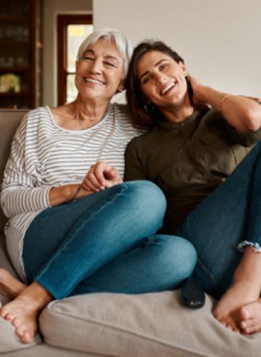 Как общаться с пожилыми родителями?
