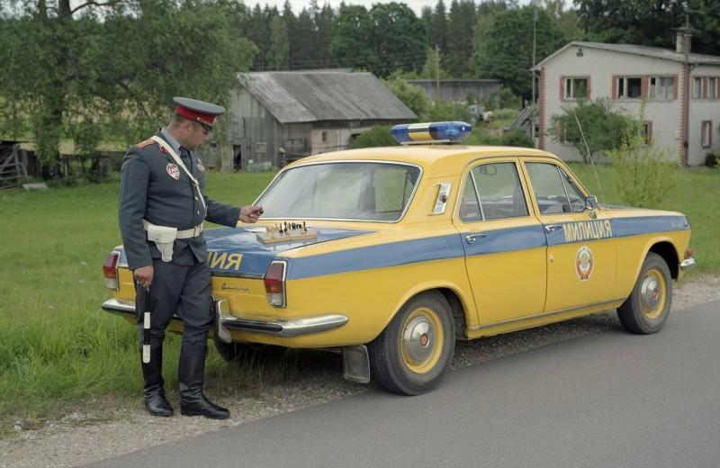 Цвет органов: почему машины милиции в СССР были желтые