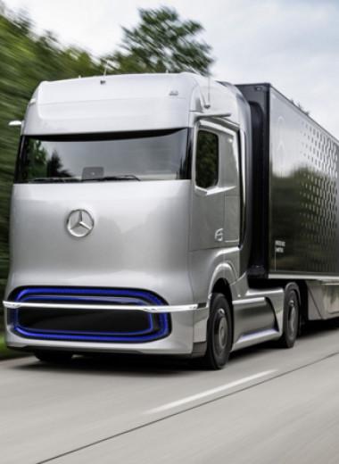 Mercedes-Benz представила прототип водородного грузовика