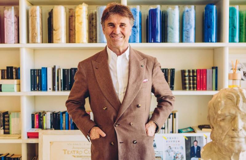 Одевает Цукерберга, запрещает перерабатывать и реставрирует города: история основателя бренда Brunello Cucinelli