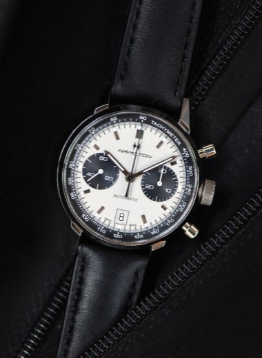 Классика возвращается: Hamilton представил часы Intra-Matic Auto Chrono