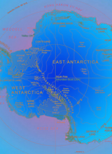 Антарктида: ключ к изучению глобального климата