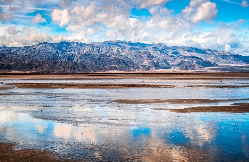 В Долине Смерти появилось озеро: климатический феномен