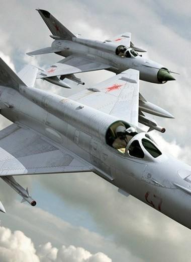 Летающий автомат Калашникова: МиГ-21