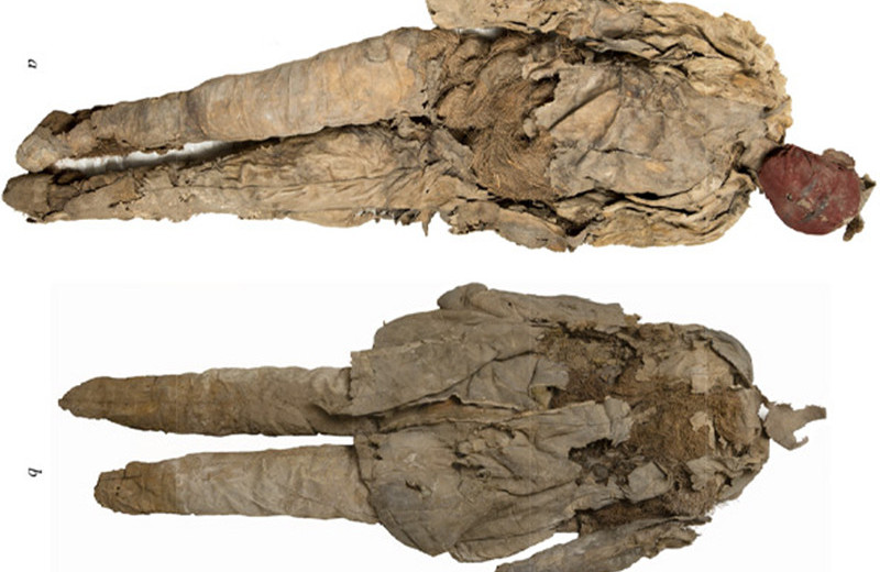 Внутри таштыкской погребальной куклы обнаружили останки взрослого мужчины