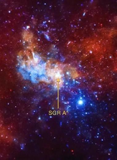 На орбите черной дыры нашли самую быструю звезду Млечного пути