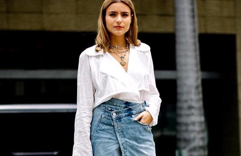 С чем можно носить джинсовую юбку: 30 образов, которые подойдут всем