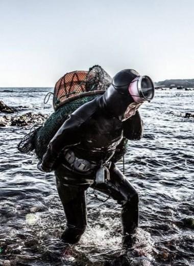 Женщины-русалки: корейские ныряльщицы хэнё и их тяжелая работа