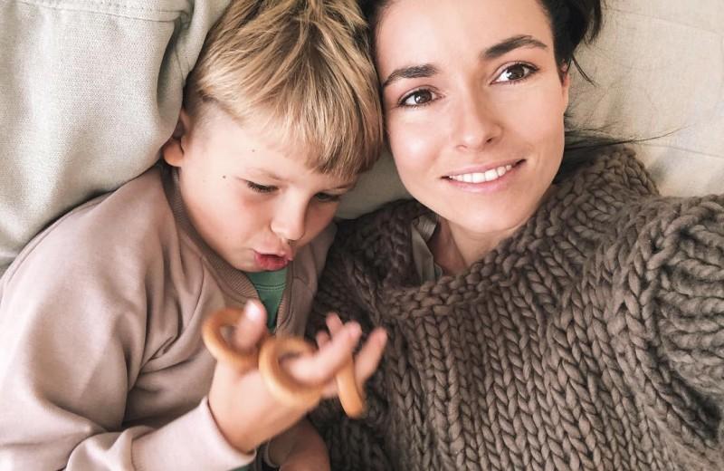 Ирена Понарошку запрещает сыну мясо и гаджеты и хочет, чтобы он стал блогером