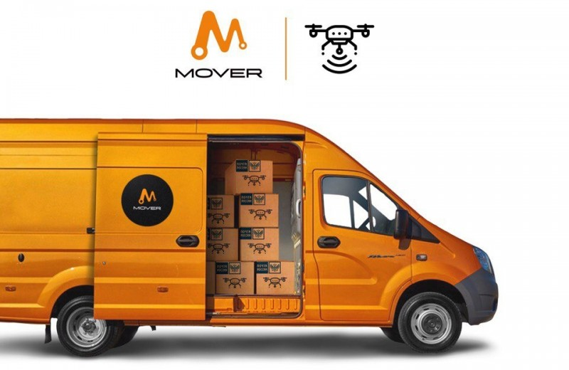 Новое грузовое такси: Mover