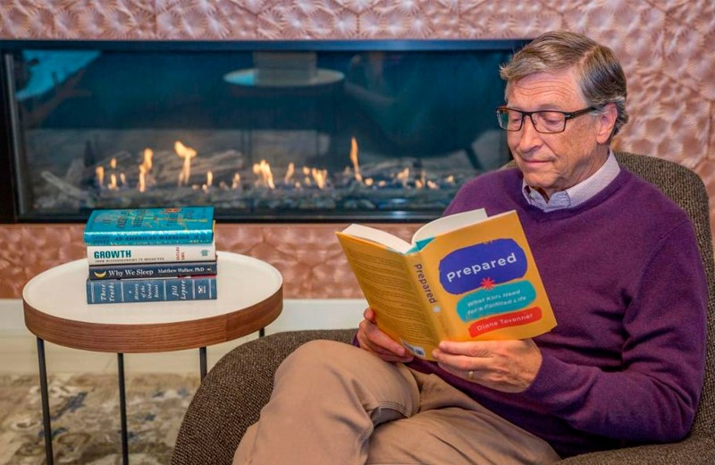Лучшие книги 2019 года по версии Билла Гейтса