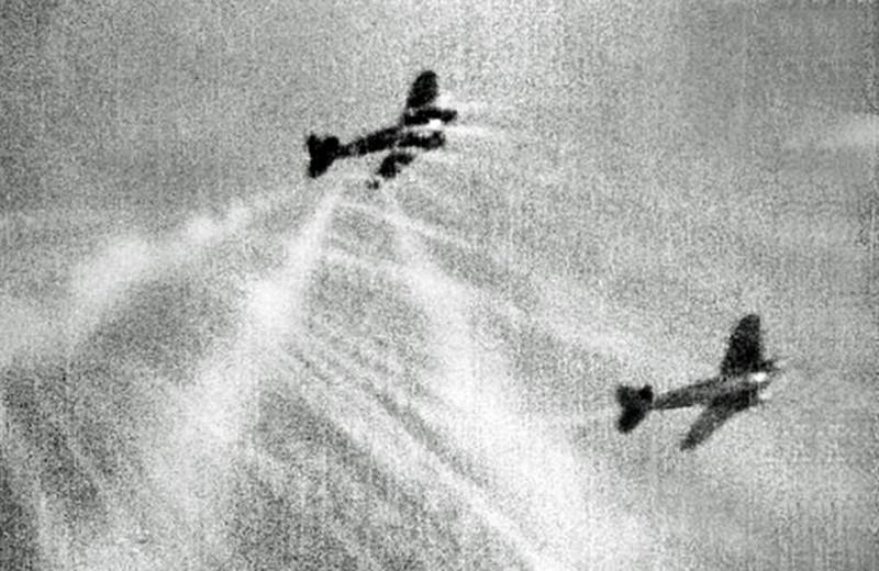 Первая победа ВВС РККА над Luftwaffe: реальное видео воздушных боев Второй мировой