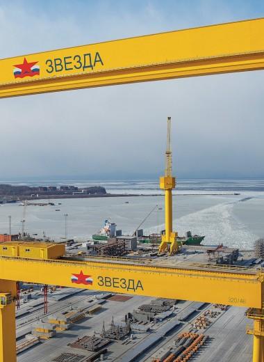 «Голиаф», строитель танкеров: гигант российской промышленности