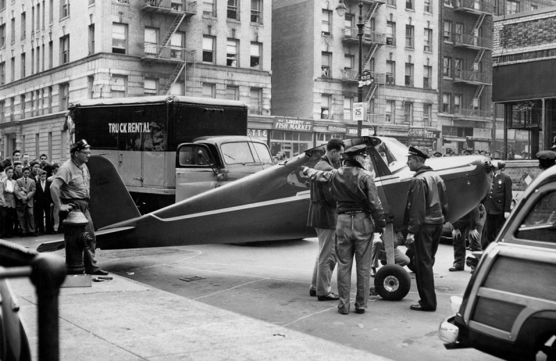 История летчика, который на спор дважды приземлился на улицах Нью-Йорка пьяным
