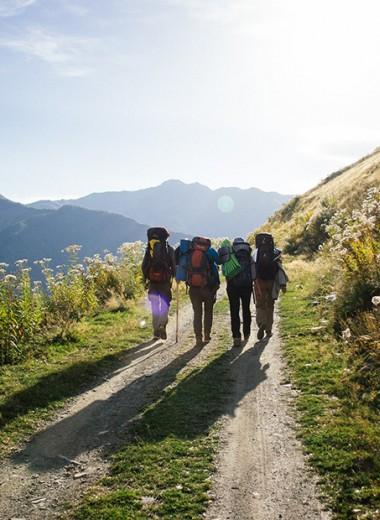 Истории о том, как влюбляются в пеший туризм