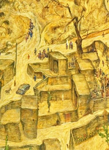 Повесть из книги Сухбата Афлатуни «Глиняные буквы, плывущие яблоки»
